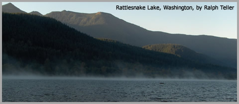 Rattlesnake Lake by Ralph Teller