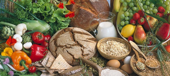 Vegetables, grains, fruits and milk as sources of glucose