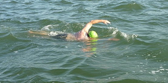 Don Macdonald open water swimming
