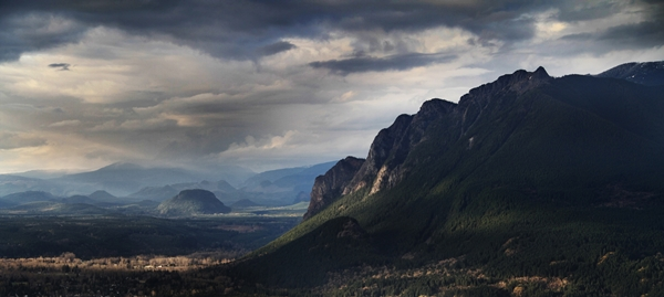 Mount Si, Washington by Dave Jones of North Bend, Washington